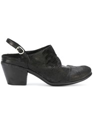Officine Creative Giselle Mules Black