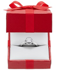 X3 Certified Diamond Engagement Ring In 18K White Or Yellow Gold 1 Ct. T.W. White Gold