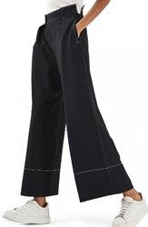 Topshop Women's Stitched Wide Leg Trousers