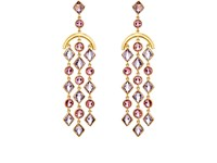 Munnu Women's Chandelier Earrings No Color