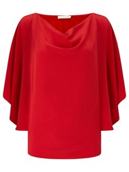 Jacques Vert Floaty Top Bright Red