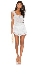 Saylor Amal Set In Baby Blue. Multi