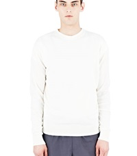 Aiezen Cashmere And Silk Knit T Shirt White