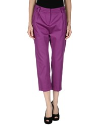Rose Trousers Casual Trousers Women Mauve