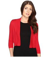 Rsvp Bre Shrug Red 2 Women's Sweater