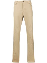 Tod's Tod S Man Chino Denim Pants Nude And Neutrals