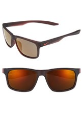 Nike Men's Essential Chaser 59Mm Reflective Sunglasses Matte Night Maroon