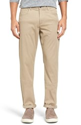Vince Men's Soho Slim Fit Five Pocket Pants Khaki