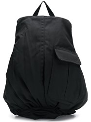 Raf Simons Loose Fitted Backpack Black