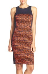 Women's French Connection 'Canyon Sands' Sateen Sheath Dress