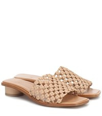 Loq Simona Leather Sandals Beige