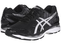 Asics Gel Nimbus 18 Black Silver Carbon Men's Running Shoes