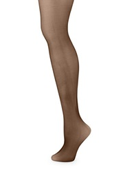 Zac Posen Sheer Control Top Tights Black