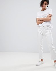 2Nd Day 2Ndday Optic Slim Fit Jeans White