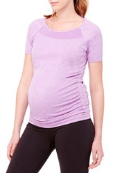 Women's Ingrid And Isabel Active Ruched Maternity Top