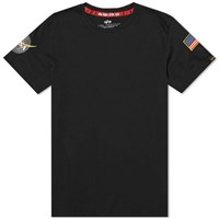 Alpha Industries Nasa Tee Black
