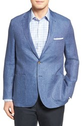 Peter Millar Men's Cape Linen Sport Coat Pier Blue