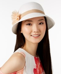 August Hats Tea Time Cloche White