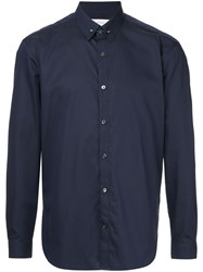 Cerruti 1881 Classic Long Sleeved Shirt Blue