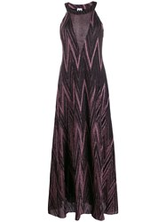 Missoni Metallic Maxi Dress Black