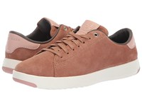 Cole Haan Grandpro Tennis Mocha Mousse Ivory Lace Up Casual Shoes Beige