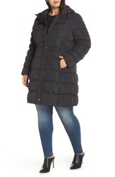 Marc New York Plus Size Jersey Hooded Parka