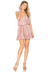 Indah Balmy Mini Dress Pink