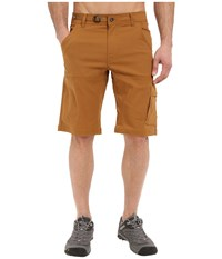 Prana Stretch Zion Short Dark Ginger Men's Shorts Tan