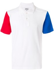 Band Of Outsiders Colour Block T Shirt White