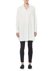 French Connection Willis Cotton Shirt Dress Summer White