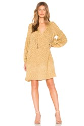 Spell And The Gypsy Collective Wild Thing Tunic Dress Brown