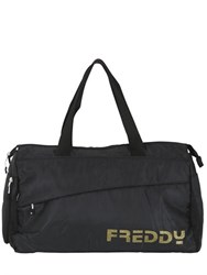 Freddy Logo Nylon Gym Duffle Bag