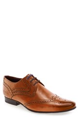 Ted Baker Men's London 'Hann 2' Wingtip Tan Leather