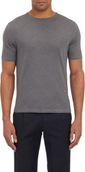Isaia Cashmere T Shirt Grey Size Small