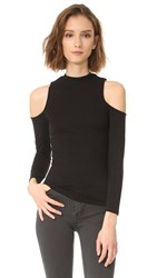 Bb Dakota Edell Shoulderless Tee Black