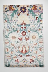 Anthropologie Hand Blue Motif