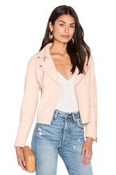 Steele Harlow Leather Jacket Pink