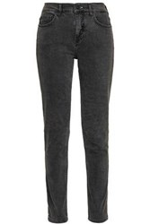 Mcq By Alexander Mcqueen Woman High Rise Skinny Jeans Dark Gray