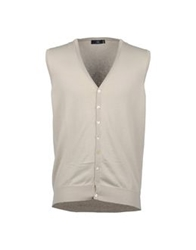Fiume Sweater Vests Beige