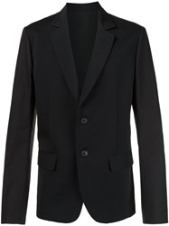 Aganovich Two Button Blazer Black