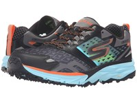 Skechers Go Trail Black Aqua Women's Running Shoes