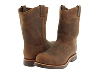 Chippewa 10 Apache Steel Toe Pull On Brown Men's Work Boots