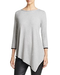 Sutton Studio Three Quarter Sleeve Tunic Compare At 59.99 Flannel Black