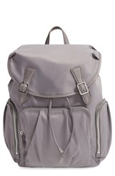 M Z Wallace Mz Wallace 'Cece' Bedford Nylon Backpack Grey Thunder