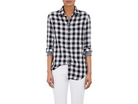 Rag And Bone Women's Checked Cotton Shirt No Color