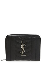 Yves Saint Laurent Women's Monogram Quilted Leather Wallet