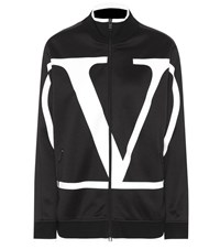 Valentino Vlogo Technical Track Jacket Black