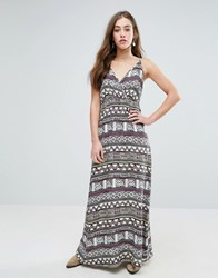 Vero Moda Super Easy Printed Maxi Dress Multi