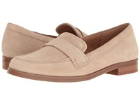 Franco Sarto Valera Light Blush Suede Women's Slip On Dress Shoes Neutral