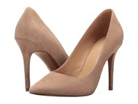 Michael Michael Kors Claire Pump Dark Khaki Kid Suede Women's Shoes Beige